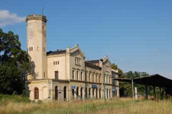 Dworzec kolejowy w Głubczycach